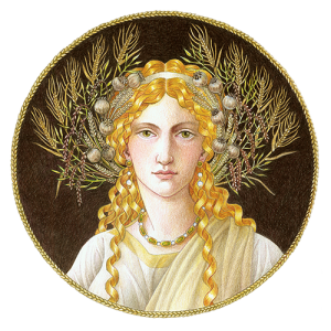 Ceres as the goddess of agriculture